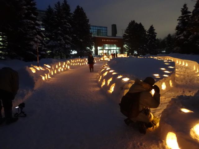 冬のまちにスノーキャンドルの灯りをともそう!