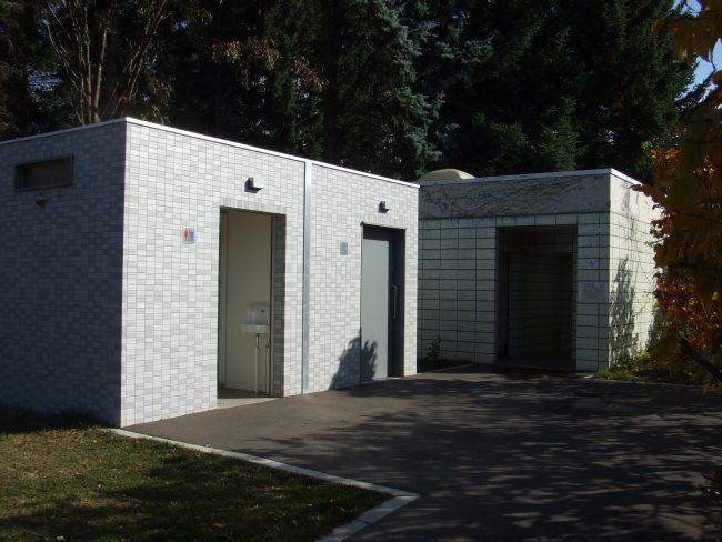 野外トイレ