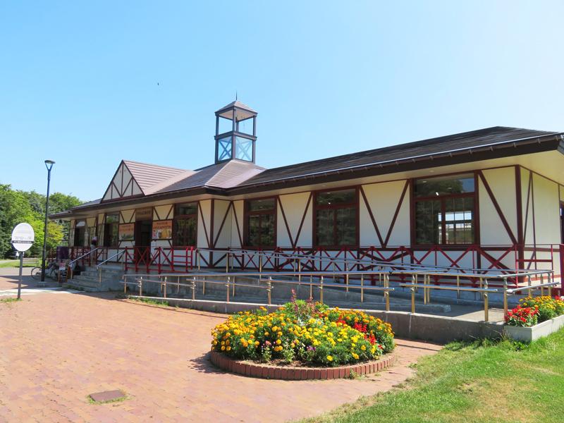 リリートレイン駅舎の写真